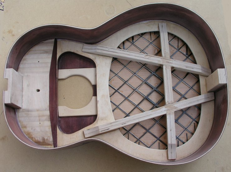 Engineered Braces The Acoustic Guitar Forum